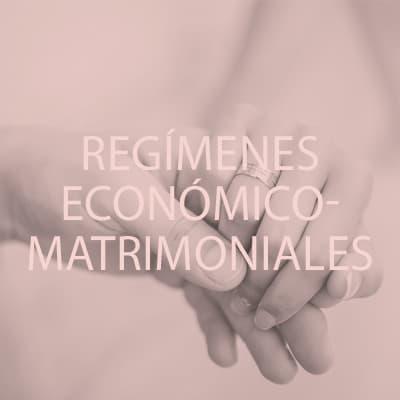 Confía en especialistas para definir el régimen económico matrimonial que más se ajuste a tus necesidades.