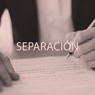 Tramitación legal de separación para matrimonios. Confía en Lidón Serra abogado